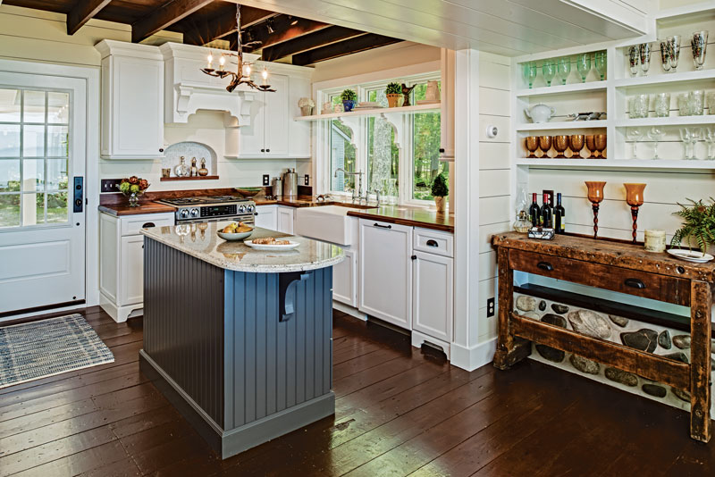 Cottage Design Kitchen Ideas ~ Small cabin kitchens