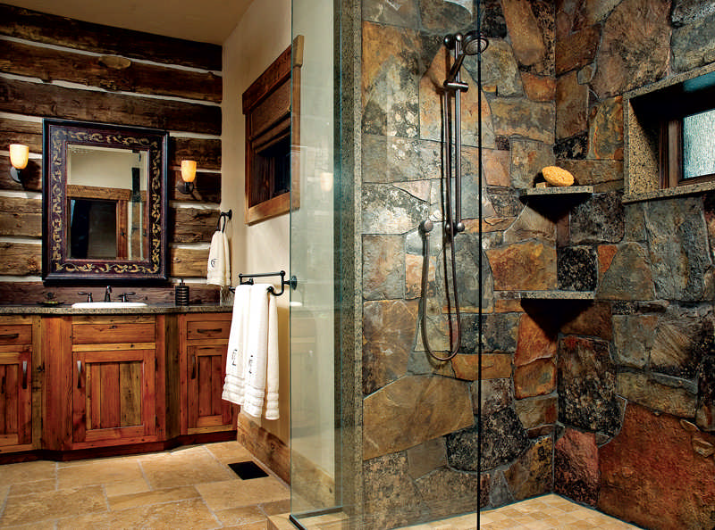 Design Tips for The Perfect Cabin Kitchen or Bath on log home bedrooms, cottage master bathrooms, french country master bathrooms, mansion master bathrooms, rustic cabin bathrooms, exotic master bathrooms, southern living master bathrooms, sexy master bathrooms, small cabin bathrooms, luxury master bathrooms, beautiful master bathrooms, log home bathroom designs, craftsman style master bathrooms, log home living rooms, million dollar master bathrooms, cape cod master bathrooms, small rustic bathrooms, farmhouse master bathrooms, modern master bathrooms, great master bathrooms,