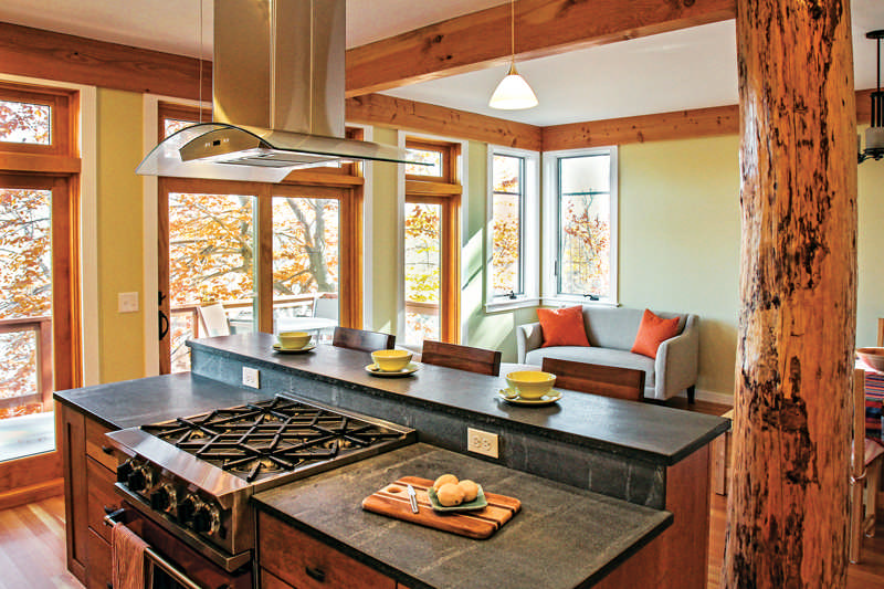 Tips for a More Energy-Efficient Cabin Homemade Cabin Kitchen Counter Ideas on homemade bookshelf ideas, homemade backyard ideas, homemade cutting board ideas, homemade cabinet ideas, homemade garage ideas, homemade fireplace ideas, homemade bed ideas, homemade bedroom ideas,