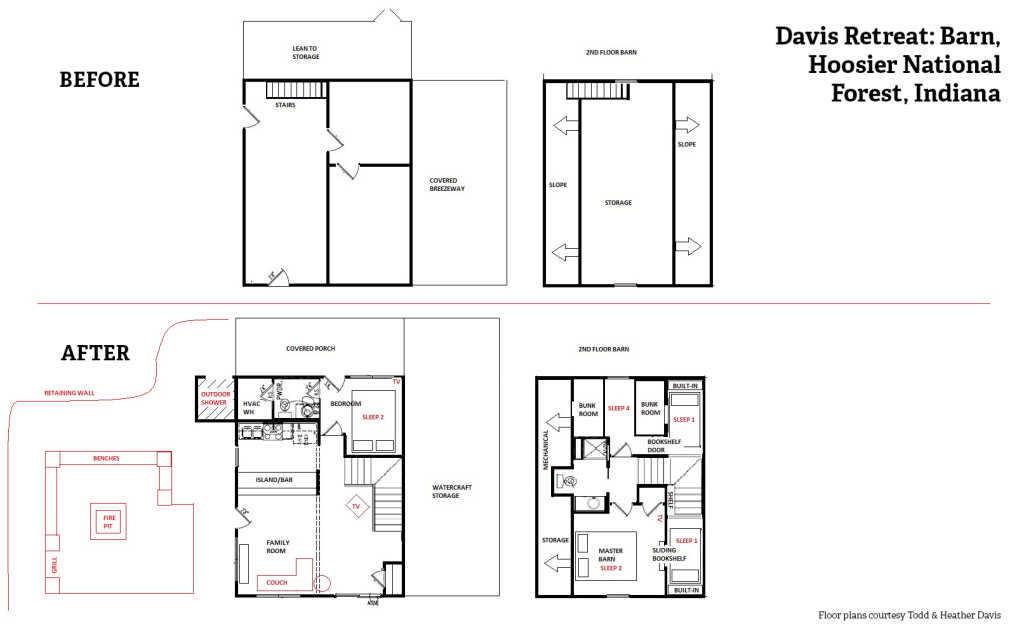 Davis Retreat_Barn Floor Plan
