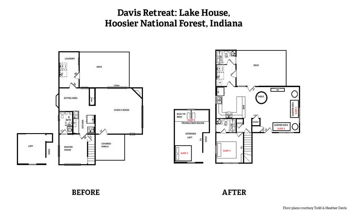 A radical transformation bonus floor plans for Lake home floor plans