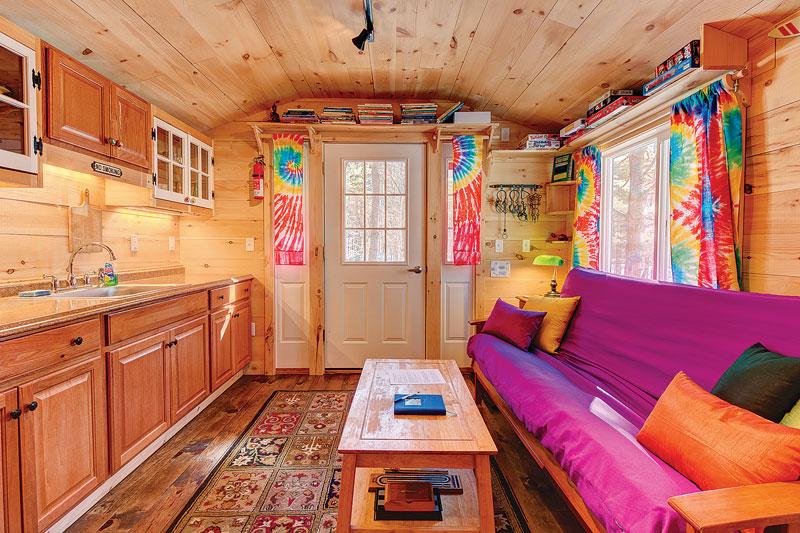 12x26 Tiny House Al Airbnb Leblossom Cottage Interior