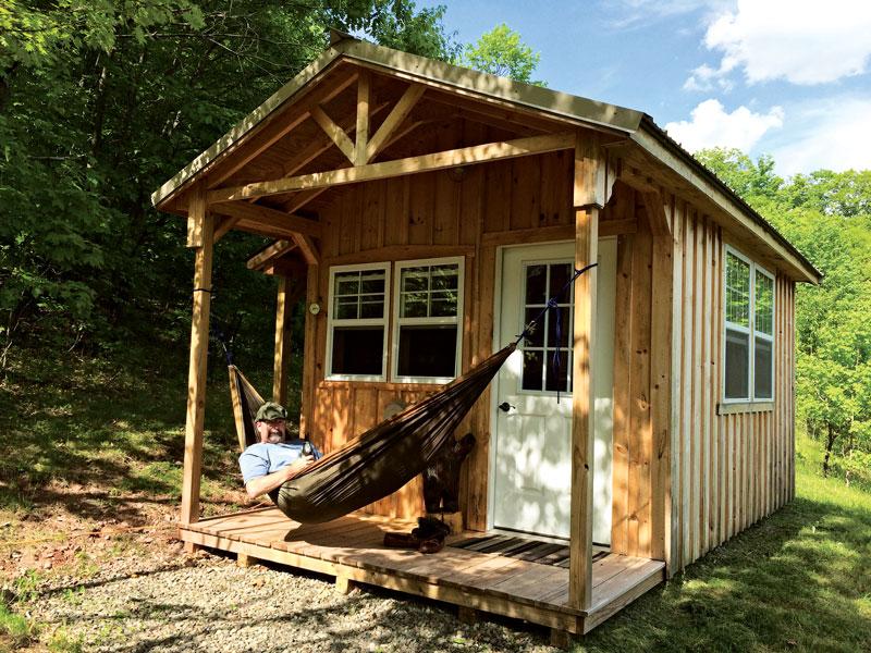 Off-Grid Cabin in the Catskills