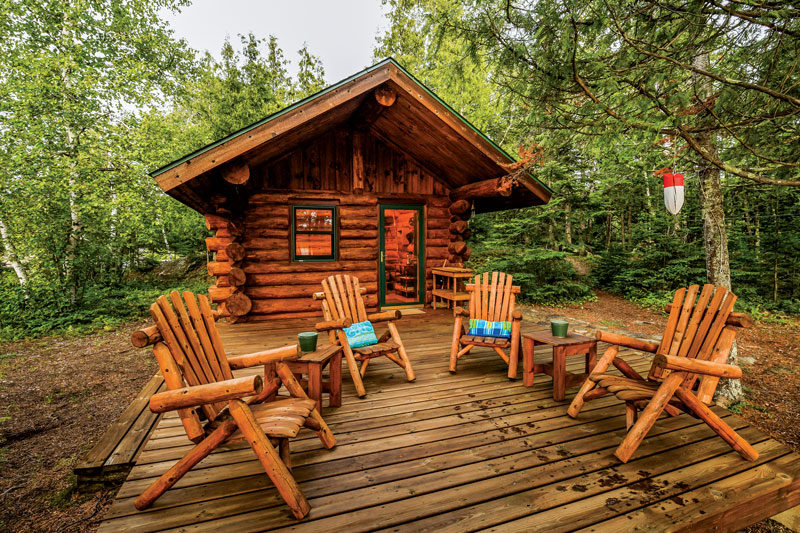 The Affordable Log Cabin Living