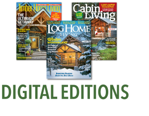 digital editions of cabin living magazine