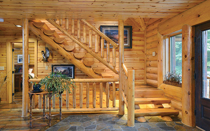 7 Unique Stairs Ideas To Spark Your Cabin Inspiration