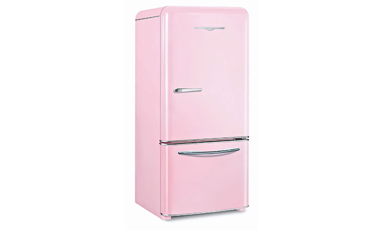 Vintage fridge Elmira-Stove-Works-Northstar-Model-1950---Light-Pink