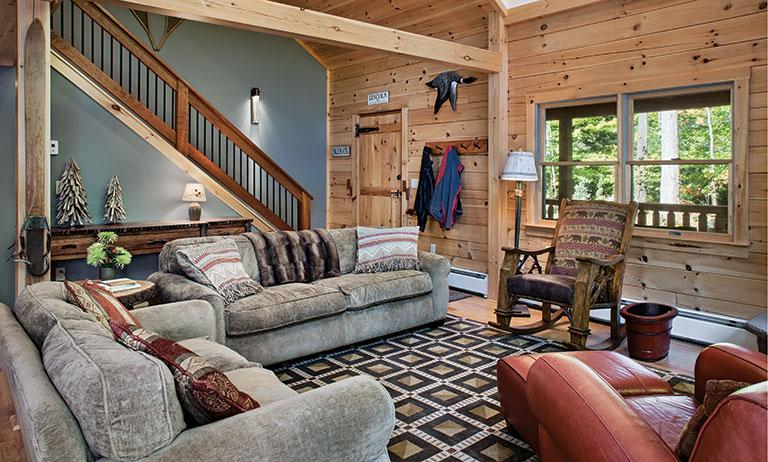New Hampshire Log Cabin