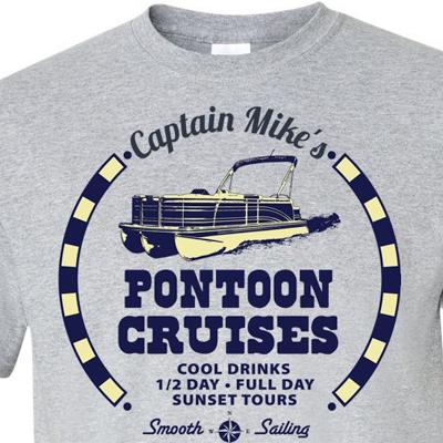 Personalized Pontoon Tours Shirt