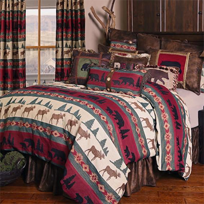 Cabin Living bedding collection