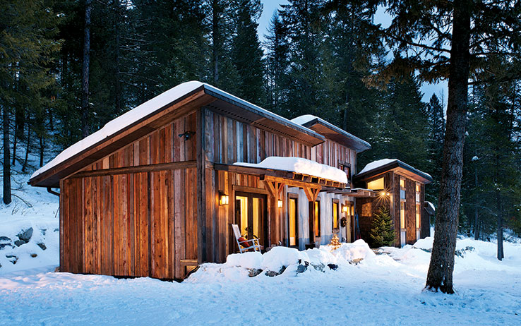 The Montana Cabin with Modern Style
