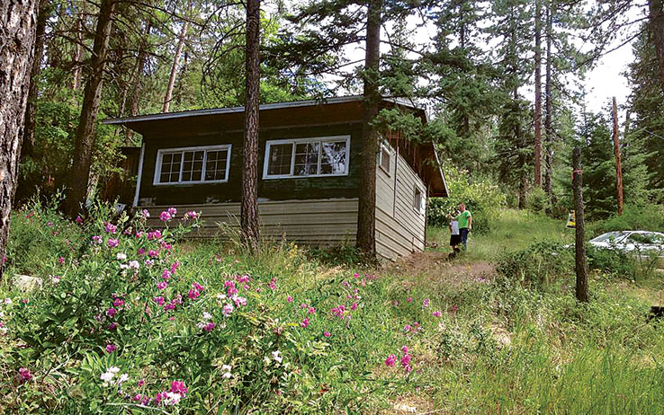 Cabin-upon-purchase