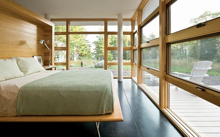 Modern Design For The Cabin