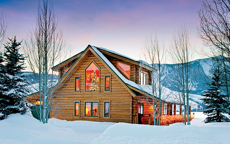 Sunday River Ski/vacation Home: Luxury Log Cabin Style Family Ski ...