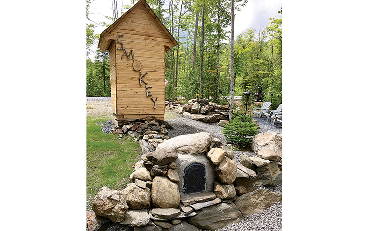 Got an unplugged retreat? A backyard smokehouse is a great option for prepping the day's catch, as well as meat and game. You can also make your own sausage and jerky.