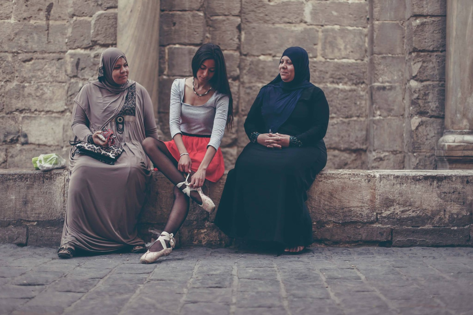 filming ballerinas in cairo with mohamed taher
