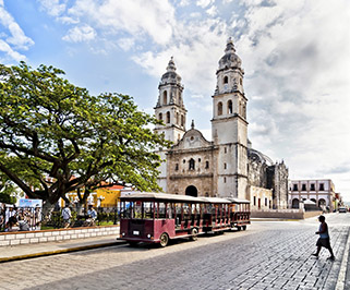 Palenque, CHIS a Campeche, CAMP