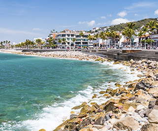 Puerto Vallarta, JAL a Santiago Ixcuintla, NAY