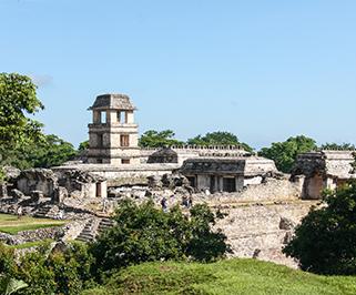 Mérida, YUC a Palenque, CHIS