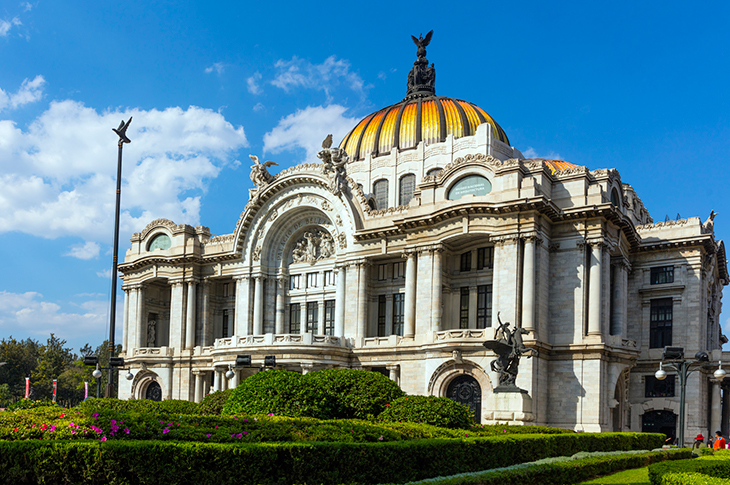 Bellas Artes y La Alameda Central