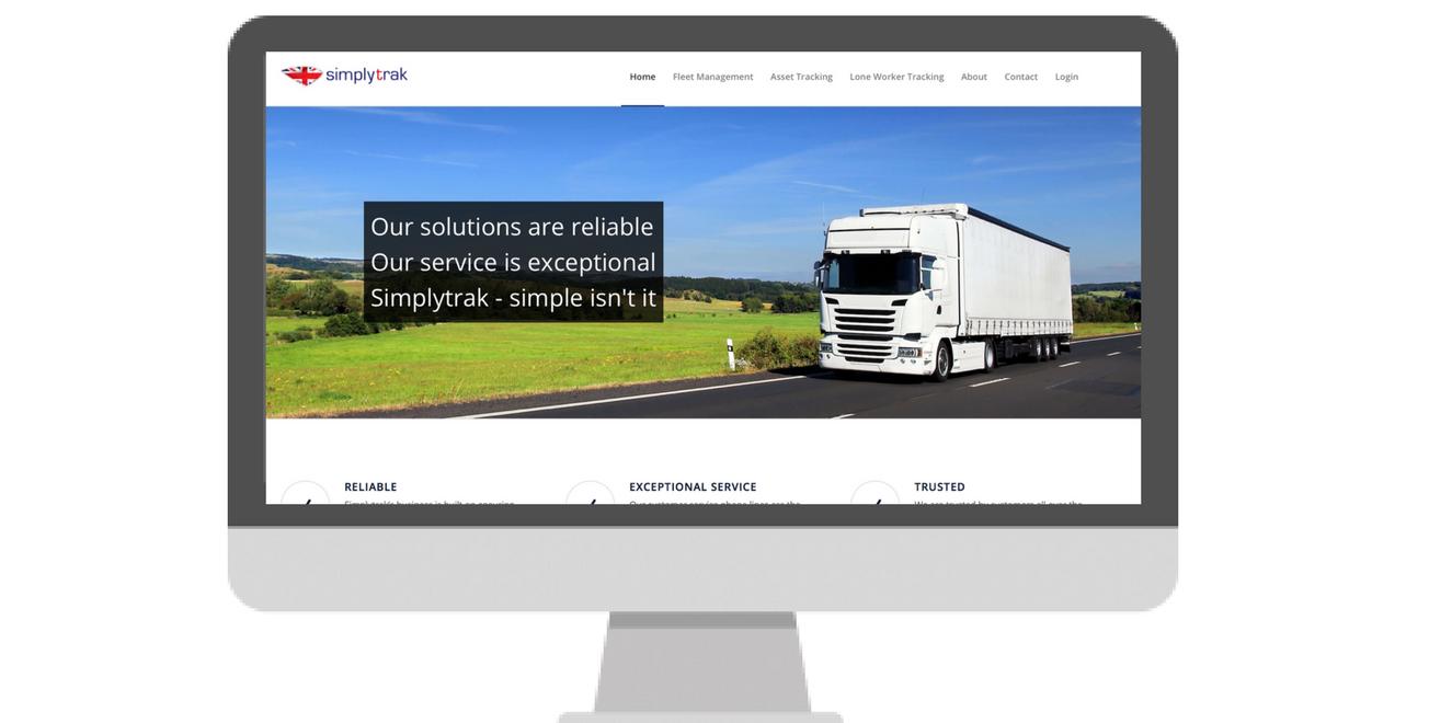 The new Simplytrak website has been launched.