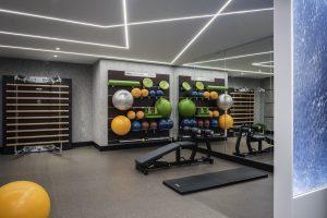 SoFit Sofitel Chicago Fitness Center Stretching Station