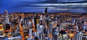 City at Night Horizontal