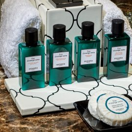 Hermes bath amenities