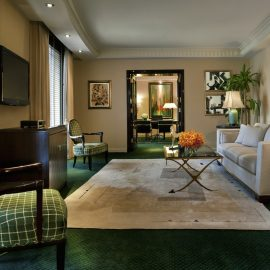 Presidential Suite Office Living Room