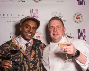 Marcus Samuelsson, head chef of Harlem's famed Red Rooster and Robert Hohmann, Executive Chef of Sofitel New York