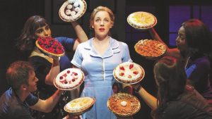 Thanksgiving Feast with Waitress the Musical