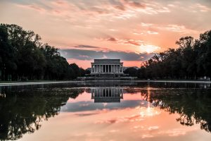 Lincoln Memorial near Sofitel Washington DC