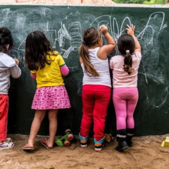 Children below the age of 6 cannot attend elementary school