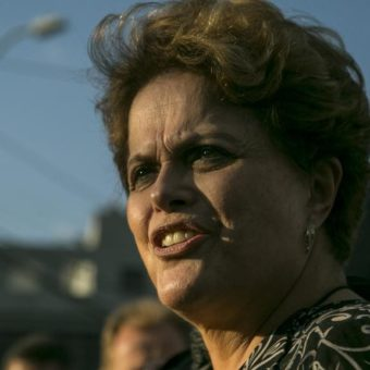Former president Dilma Rousseff is at college – and teaching (sort of)
