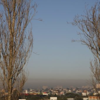 What is it about Brazil's air that is helping cause the death of over 50 thousand people a year, according to the WHO