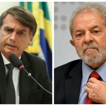 Lula's success in the polls drops election into Bolsonaro's lap
