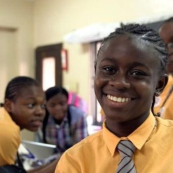 Nigerian student created app to help lost children finding their way home and inspires other students