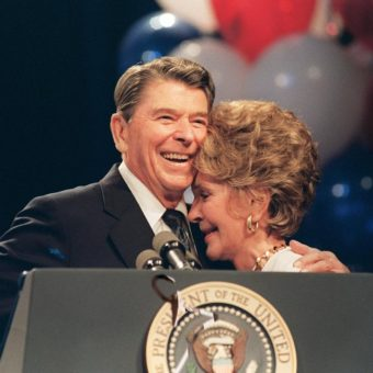 A private letter from Ronald Reagan to his dying father-in-law shows the president's faith