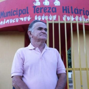 He went to university in his sixties. And now he wants to teach in the school where he works as a security guard