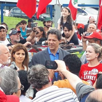 Haddad visits jail for the 15th time to receive instructions from Lula
