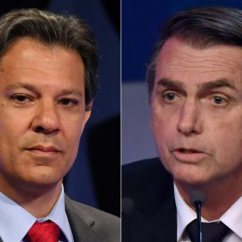 For the next three weeks, Bolsonaro and Haddad will fight in a tense runoff