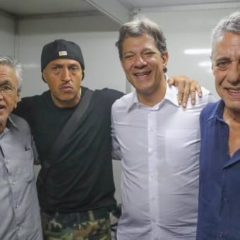 In show to honor Haddad, rapper Mano Brown foresees defeat on Sunday