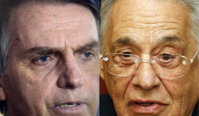 Bolsonaro and FHC trade barbs on Twitter