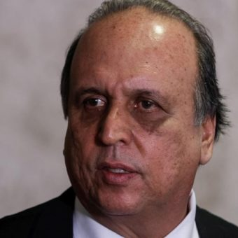 Pezão arrested for supposedly being involved in an ongoing corruption scheme