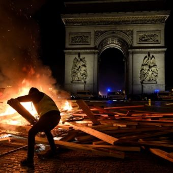 France suspends fuel tax after weeks of unrest