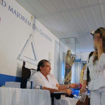 Courts decree the arrest of medium João de Deus