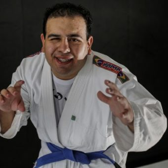 After paralysis and coma, young man bounces back with jiu-jitsu blows