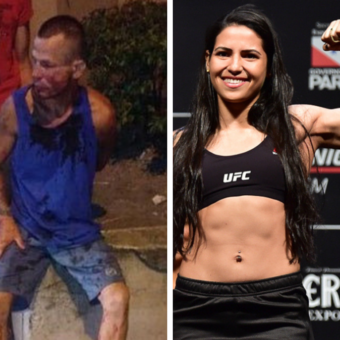 Fake news made Brazilian UFC fighter who hit a burglar fear for her arrest