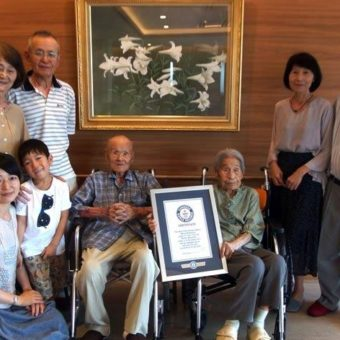 Married for eighty years, centennial Japanese give recipe for a long-lasting marriage