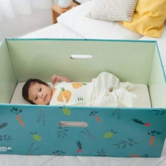 Bela Gil launches cardboard box for babies in Brazil, but is it safe?